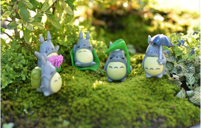 (10pcs/lot) my neighbor Totoro action figure gifts doll cute miniature figurines Toys 1-3cm PVC plactic japanese anime1601129 - Dailytechstudios