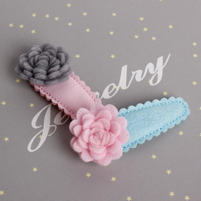 1 PCS Fashion Cute Dimensional Flowers Baby Hairpins Girls Hair Accessories Children Headwear Princess Barrette kids Hair Clips - Dailytechstudios