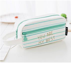 1 Piece FOURETAW Creative Amazing Fashion Classic Cute Candy Color High-Capacity Girls Coins Pen Card Home Office Storage Bags - Dailytechstudios