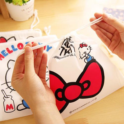 (1pcs/sell) Kawaii Drawstring Womens Travel Cosmetic Bags High Quality Makeup Bag Make Up Bag Neceser Luxury Brand Famous Brands - Dailytechstudios