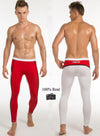 100% Real Photos Good Quality Fashion M L XL Men Patchwork Long Johns Pants Underwear Trousers MP021