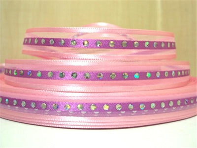 "(5yds per roll) 3/8""(9mm) satin sequins ribbon high quality 5 yards, DIY handmade materials, wedding gift wrap,5Yc1369 - Dailytechstudios"