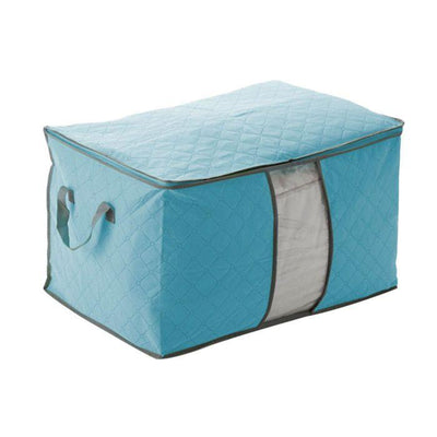 1PC 60*42*36 Large Size Foldable Storage Bag Clothes Blanket Pillow Quilt Closet Sweater Box Pouch Organizer 4 Colors -15  UpCube- upcube