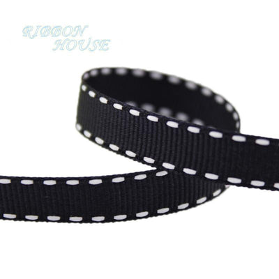 (14 colors mixed!) 3/8'' (10mm) White Dots Color grosgrain colored ribbon wholesale gift wedding baking ribbons - Dailytechstudios