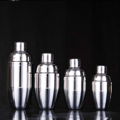 (250ml / 350ml / 530ml/750ml) 202#Stainless Steel Martini Cocktail Shaker Bar Tools Wine Shakers - Dailytechstudios