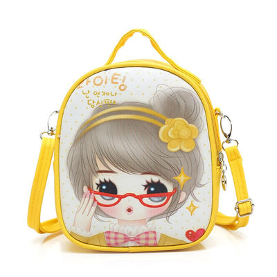 2017 Girls New Style Beautiful PU Leather Shoulder Backpack Children Mini Muti-functional Sling School Bags  dailytechstudios- upcube