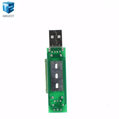 1pcs/lot USB Port Mini Discharge Load Resistor Digital Current Voltage Meter Tester 2A/1A With Switch 1A Green Led / 2A Red Led  upcubeshop- upcube