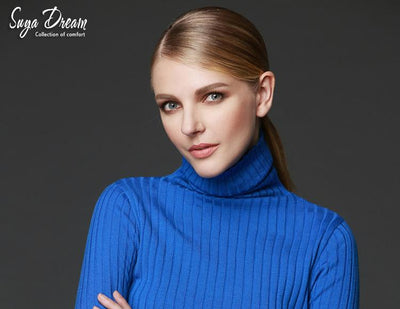100%MERINO WOOL women long sleeve solid RIB knit turtleneck Heaps collar PULLOVERS sueter sweater top tunic jumper Basic new