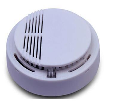 Independent Photoelectric Smoke Detector Fire Smoke Alarm Sensor For Home Safety Garden Security
