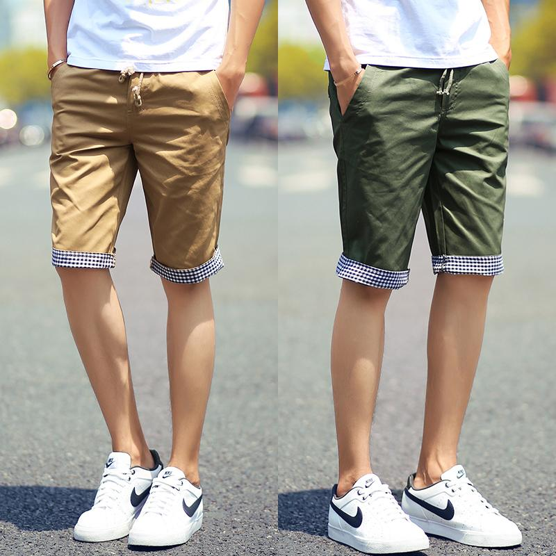 cotton shorts men fashion