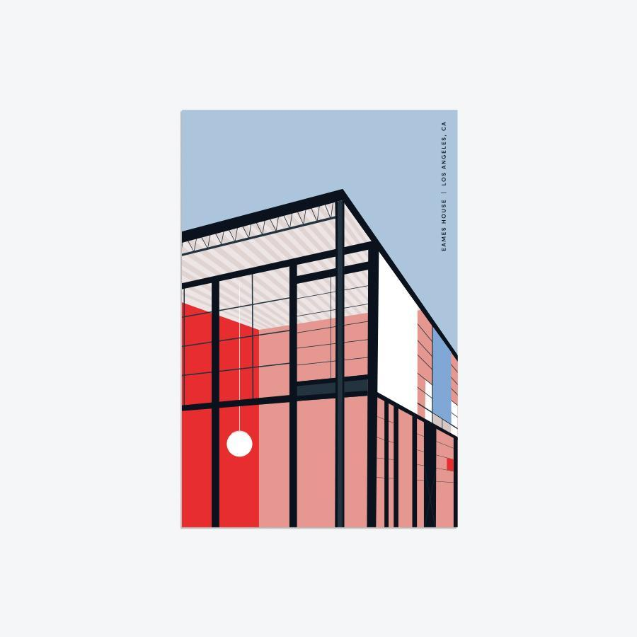 #10583 LA Architecture Postcard Pack - Dailytechstudios