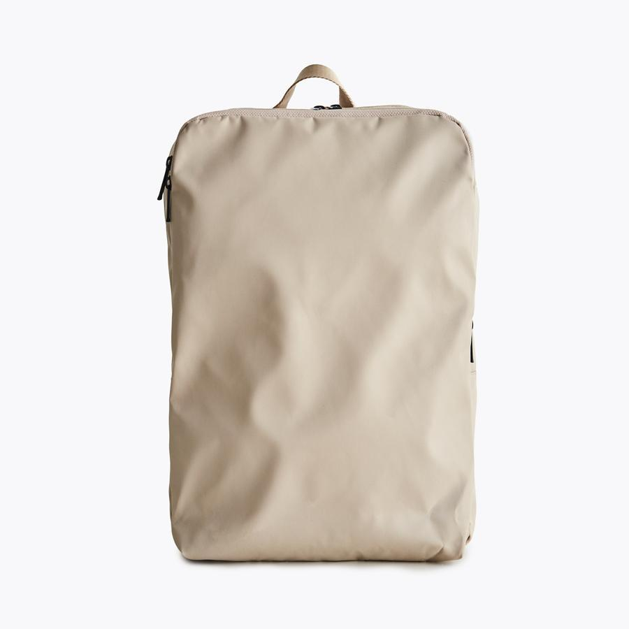 #11142 Simple Backpack in Beige - Dailytechstudios