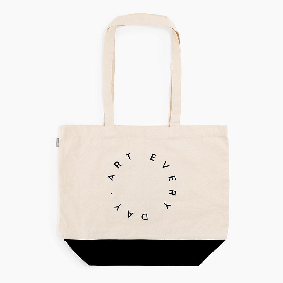 #10606 - Art Every Day Tote in Black - Dailytechstudios