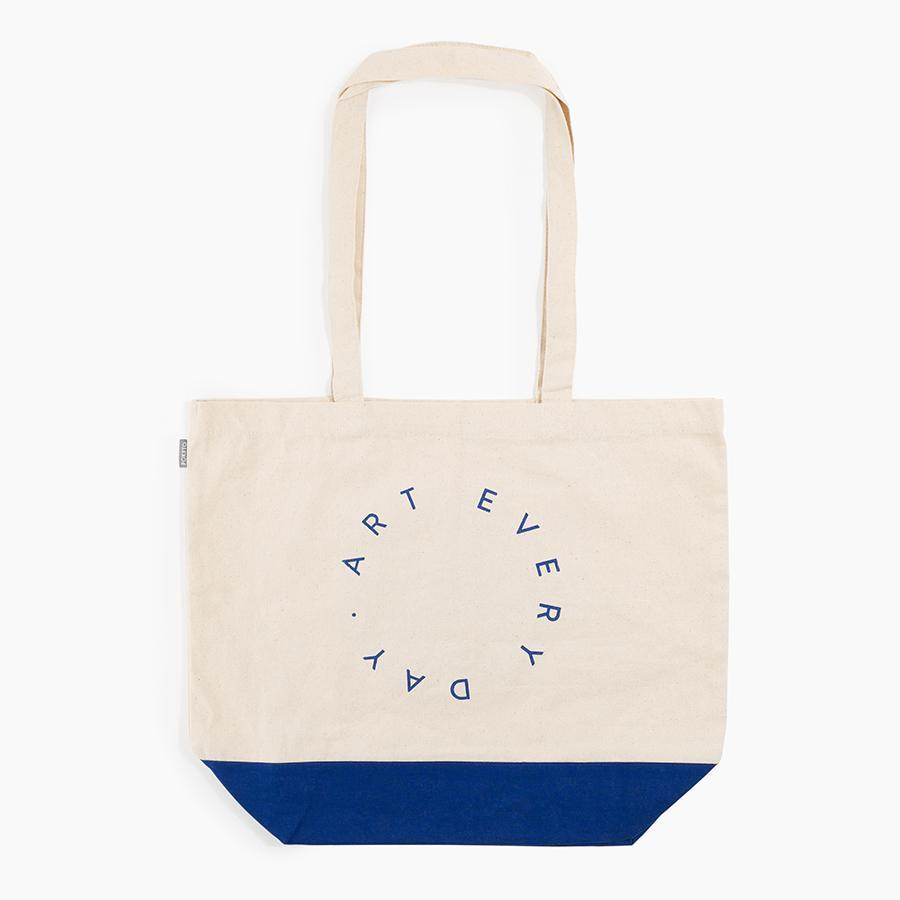 #10607 - Art Every Day Tote in Cobalt - Dailytechstudios