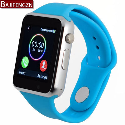 bluetooth smart watch for android phone support SIM/TF reloj inteligente sport wristwatch Support camera, SIM card PK DZ09 GT08 Smart Wristbands ddddd Store- upcube