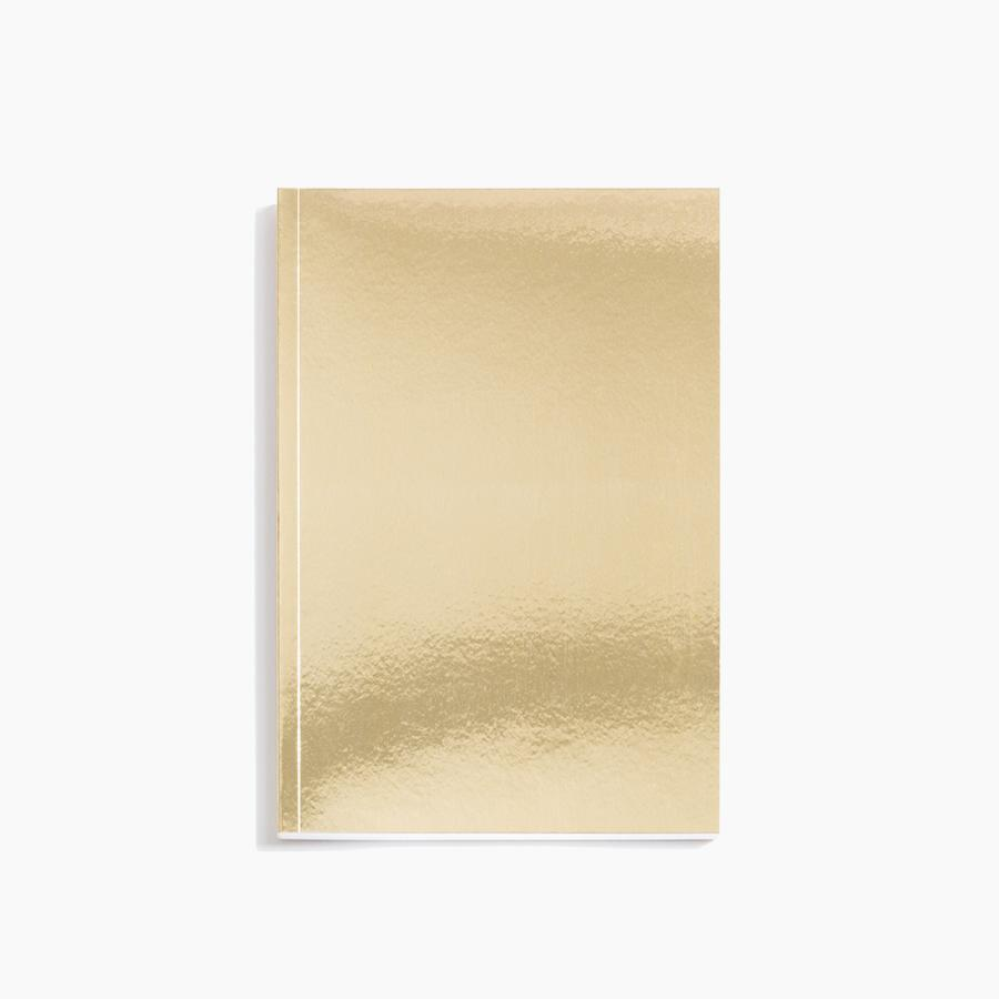 #10036 Gold Notebook - Dailytechstudios