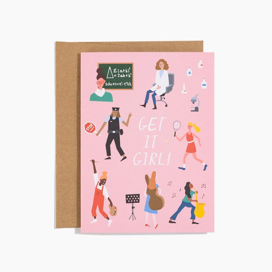 #10160 Get It Girl Card - Dailytechstudios