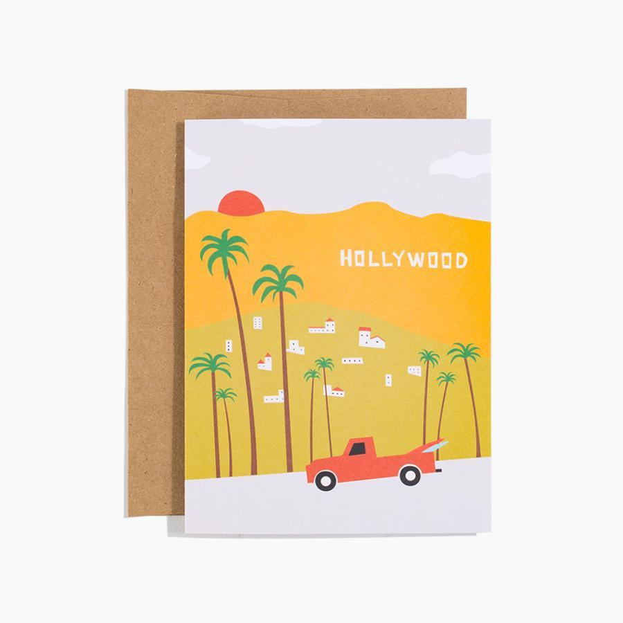 #10179 Hollywood Sign Card - Dailytechstudios