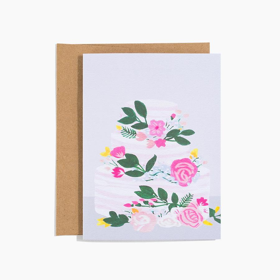 #10139 Wedding Cake Card - Dailytechstudios