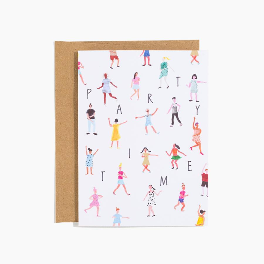 #10173 Dance Party Card - Dailytechstudios