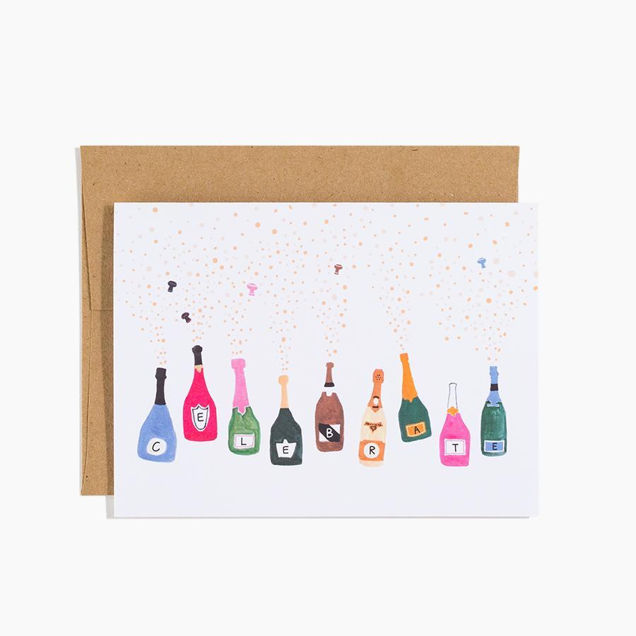 #10172 Celebrate Champagne Card - Dailytechstudios