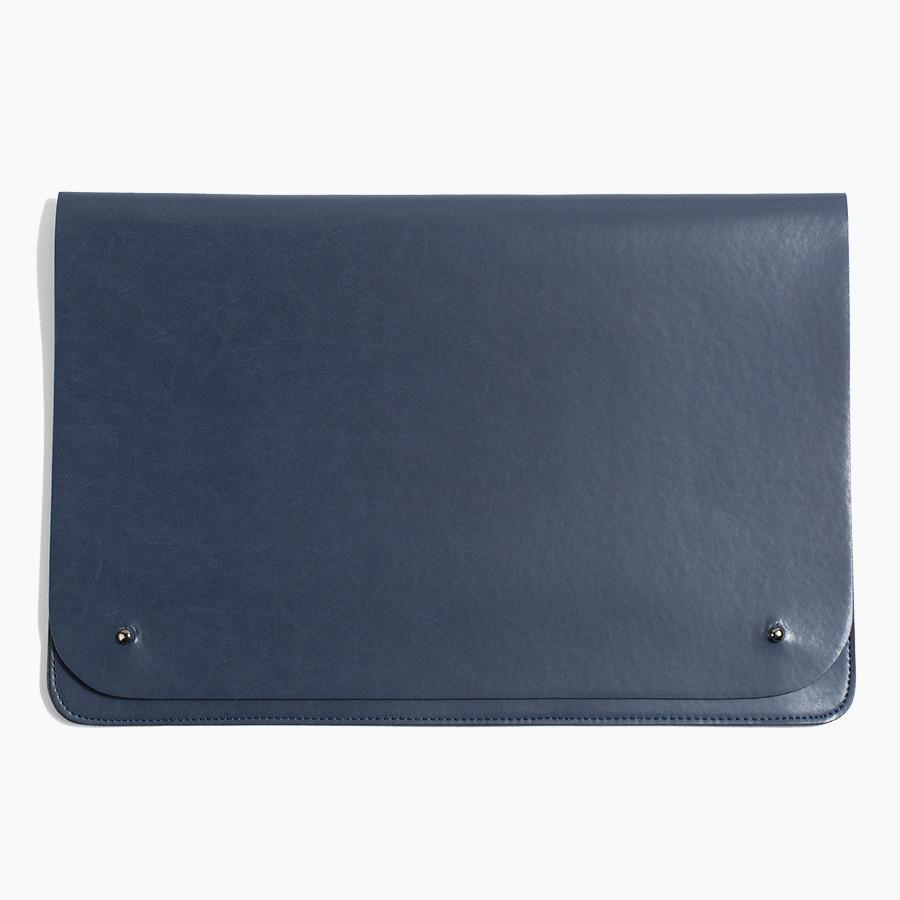 #6584 - Minimalist Folio in Large Navy - Dailytechstudios