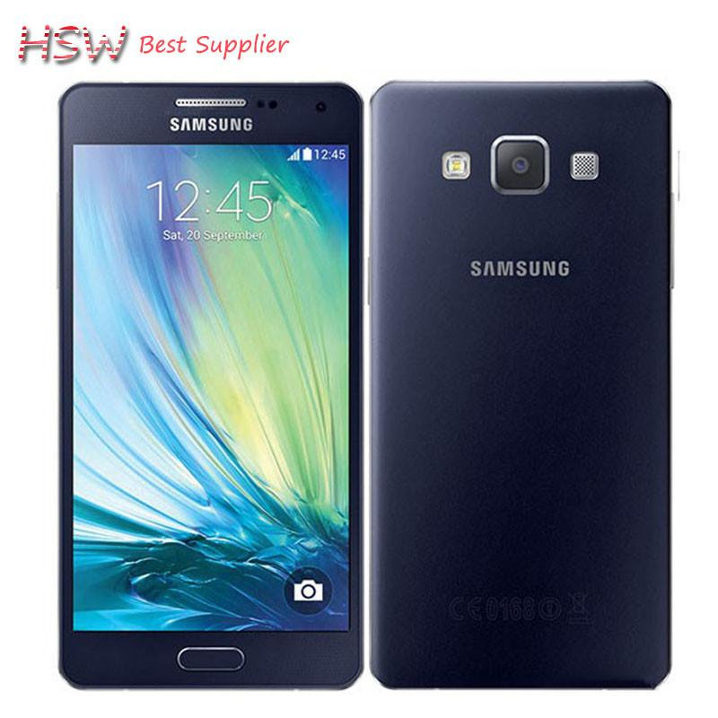 "100% Original Unlocked Samsung Galaxy A5 A5000 A500F LTE Cell phones 5.0"" Quad core 13MP 2GB RAM 16GB ROM Refurbished"
