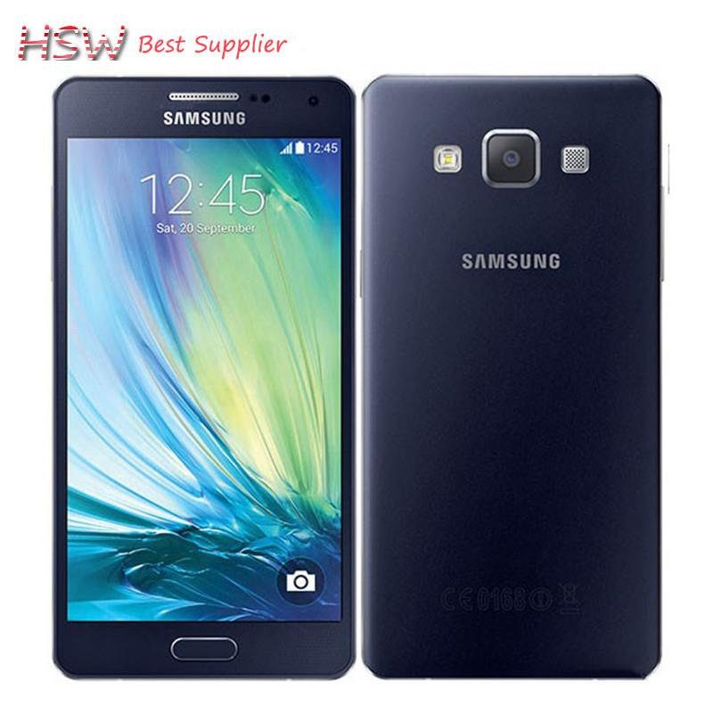 100% Original Samsung Galaxy A3 A3000 Quad-Core Android 4.4 OS 4.5 Inch 8GB ROM 4G 8.0MP Camera Cell Phone Free shipping