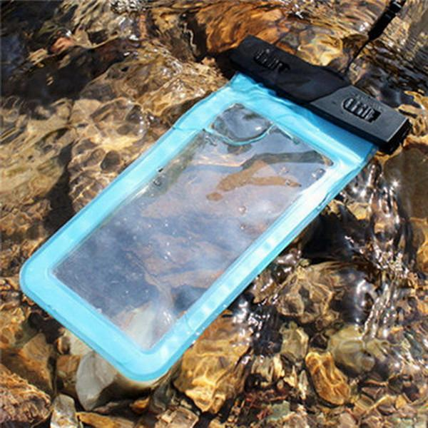 100% Sealed Waterproof Bag Case Pouch Phone Cases for iPhone 7 6 6s Plus 5s Samsung Galaxy S7 S6 S5 S4 edge plus Mobile Phones
