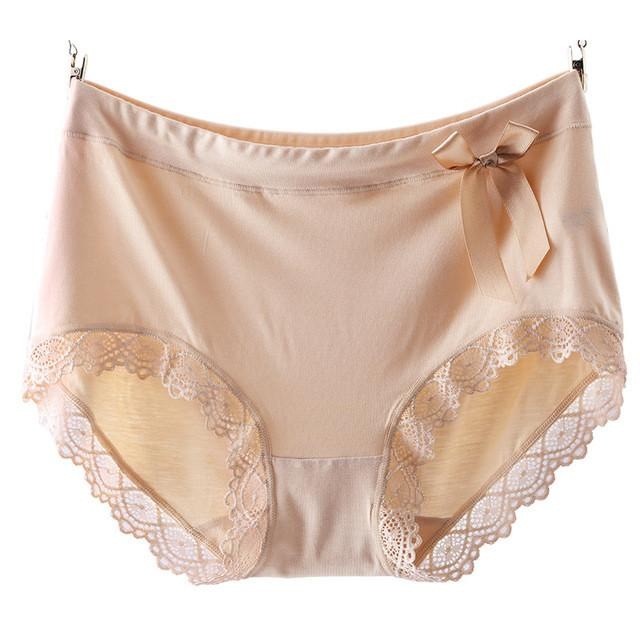 2397ed323f plus size panties 5XL high waist sexy breathable comfortable modal many  colors plus size underwear women