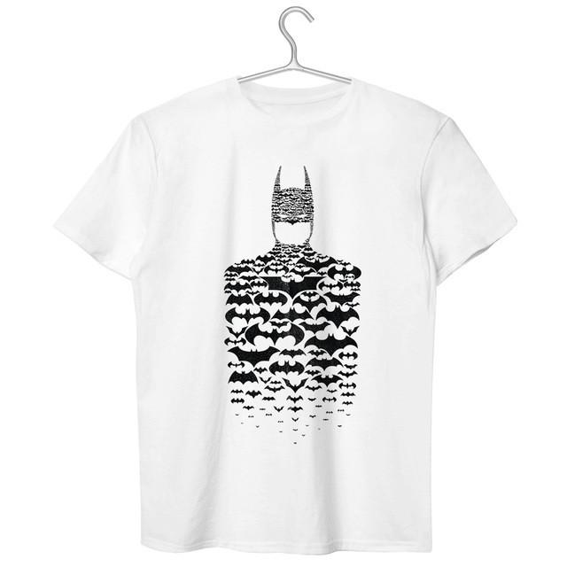 882133331478c Batman Shadow Bat Man Design Style T Shirt Creative Novelty Casual Brand T- shirt Rock