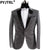 (Jacket + Pants) Male Dress Singer Host Men Slim Fit Shiny Film Groom Wedding Suit Show Performances Mens Prom Customized Suits