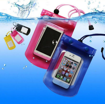 1pcs Outdoor travel swim dive submersible document package Mobile Phone Waterproof Bag case cover Mobile Phone Accessories  dailytechstudios- upcube