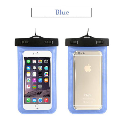 100% Sealed Waterproof Bag Pouch Phone Case For Apple iPhone 6 6S 7 Plus 5S SE For Samsung S6 Edge S7 Edge S5 J5 J7 2016 P8 Bag