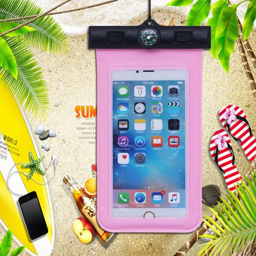 2016 New Waterproof Pouch With Compass Arm Band Diving PVC Universal Phone Bag Case For iphone 4 5 5S SE 6 6S For Samsung  dailytechstudios- upcube