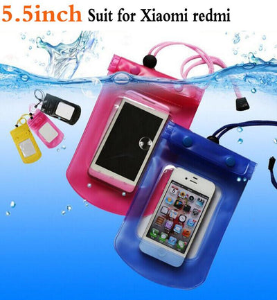 1pcs Outdoor travel swim dive submersible For Xiaomi mi5 mi4 Redmi 1 2 3 s 4 pro note 2 note3 note4 Waterproof Bag case cover  dailytechstudios- upcube
