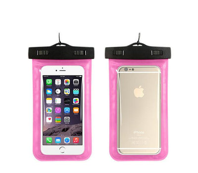 100% Sealed Waterproof Bag Case Pouch Phone Cases for iPhone 6/6s 7 Plus/5 5S Samsung Galaxy S6/S5/S4 A3 A5 J3 J5 2015 2016 2017