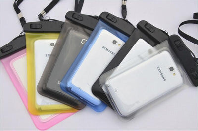 100%Sealed Waterproof Bag Case Pouch Phone Case For Samsung Galaxy C5/C7/S7 edge/S7/S6/S5/S4/ Samsung Note 6/5/4/3/2 Most Phones