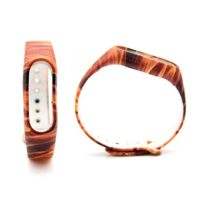 1pcs Leopard Strap for Xiaomi For Mi Band 2 Strap Smart Wristband Silicone Belt for Miband 2 Replacement Band Smart Wristbands Shop1026184 Store- upcube