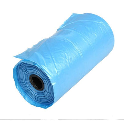 Blue 40 Rolls Pet Poop Bags Dog Cat Waste Pick Up Clean Bag a Roll of 15 Bags