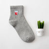 1pair=2pcs 35-40 Unisex Cotton Harajuku Socks for Women Men Ulzzang Calcetines Black White Japanese Socks Socks Link World Sport No.1- upcube