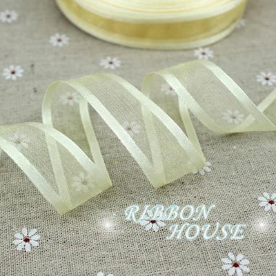 (10 yards/lot) 3/4''(20mm) Broadside organza ribbons wholesale gift wrapping decoration ribbons wholesale - Dailytechstudios