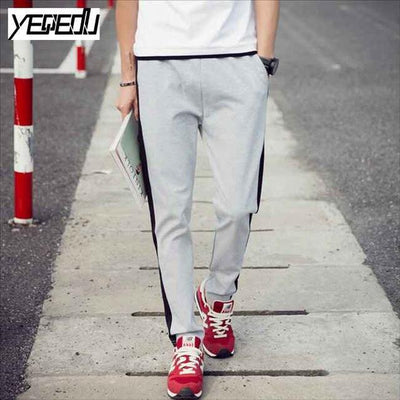 #1641 Spring/Fall Side striped sweatpants for men Slim Big size 5XL Joggers Pantalon homme Track pants Sweat Pantalones hombre - Dailytechstudios