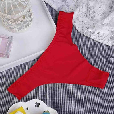 1 Pieces Brand Seamless Women Thongs And G Strings Solid Sexy Women Briefs 9 Colors Slim Women Panties And Underwear - Dailytechstudios