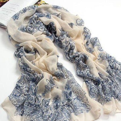 1PC 4 Colors New Velvet Chiffon Scarf Women Lady Infinity Scarf Korea New Design Casual Scarf Long Cape Scarves Shawl Gift Scarves Malaysian monkey of Debbie_- upcube