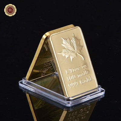 Best Selling 1 OZ 999 Gold Bar Jesus&Angel Challenge Gold Bar Ingot Fine Gold Plated Gold Bar for Nice Souvenir Gifts