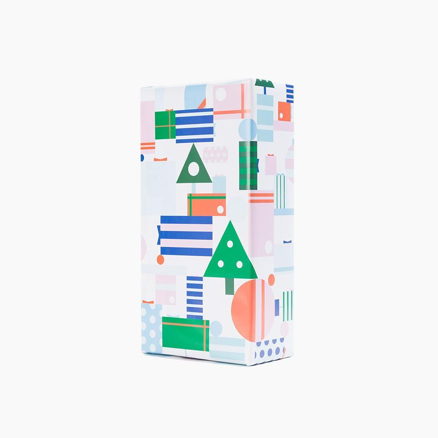 #8014 Poketo Holiday Wrapping Paper - Dailytechstudios