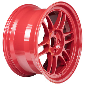 Enkei RPF1 17x9 5x114.3 35mm Offset 73mm Bore Competition Red Wheel