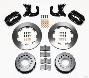 Wilwood Forged Dynalite P/S Rear Kit Chevy 12 Bolt-Spec 3.15in Brng