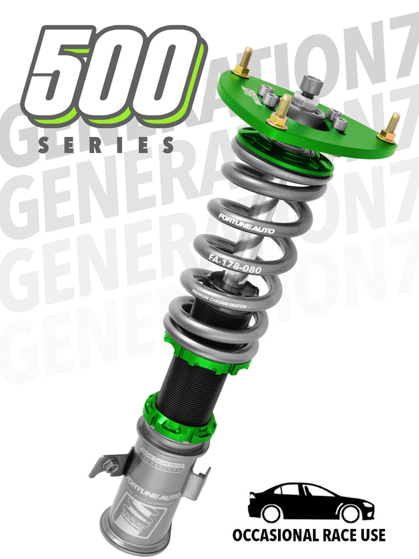 Fortune Auto 500 Series Coilovers True Rear Nissan 370Z Z34 2009+ FREE SHIPPING